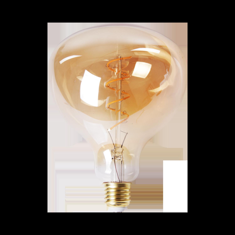 LED lamp filament peer spiraal klein Ø13.5 cm