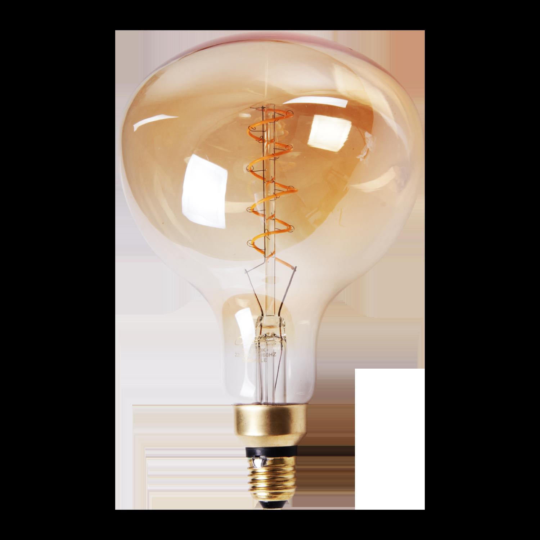 LED lamp filament peer spiraal middel Ø16 cm