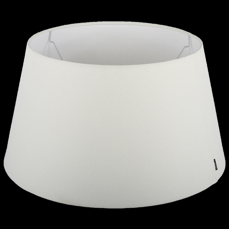 Staande lampenkap Ambienta drum 20 cm off white