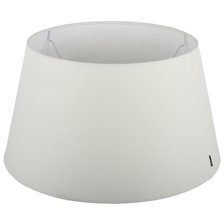 Staande lampenkap Ambienta drum 25 cm off white