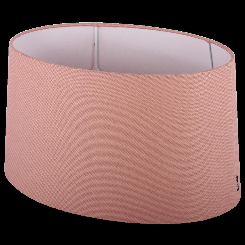 Staande lampenkap Ambienta ovaal 20 cm roze