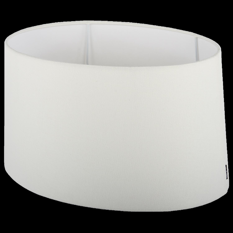 Staande lampenkap Ambienta ovaal 45 cm off white