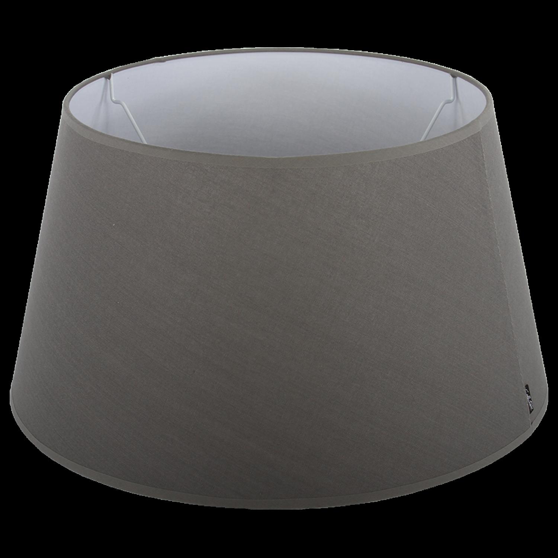 Staande lampenkap Eleganza drum 25 cm grijs