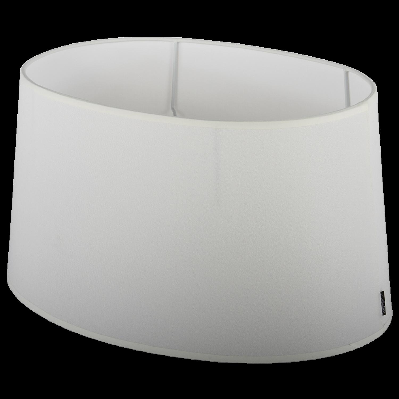 Staande lampenkap Eleganza ovaal 45 cm off white