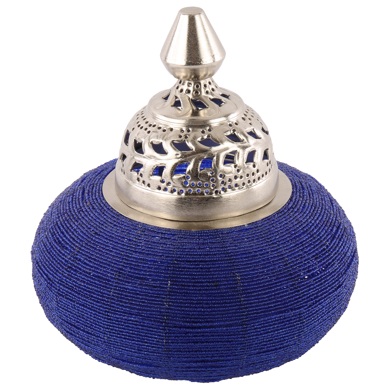 Tafellamp Arabesque klein blauw
