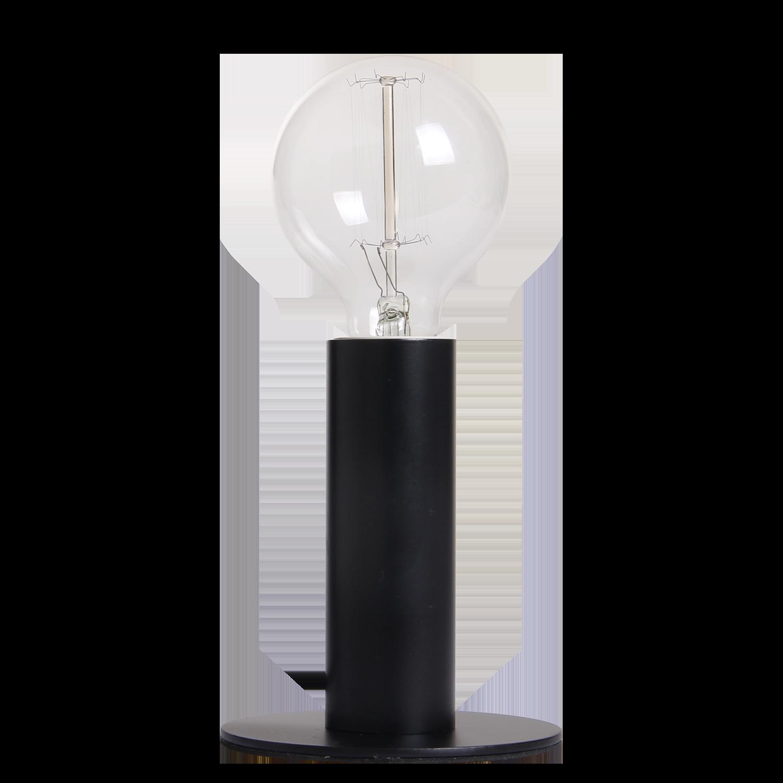 Tafellamp Denmark Ø11 cm mat zwart