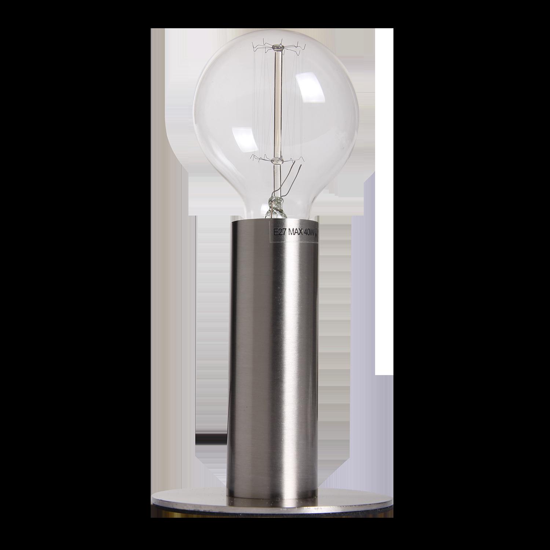Tafellamp Denmark Ø11 cm nickel satin