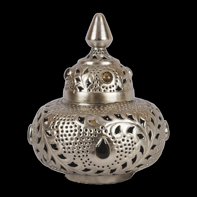 Tafellamp Marrakech klein met grijze stenen