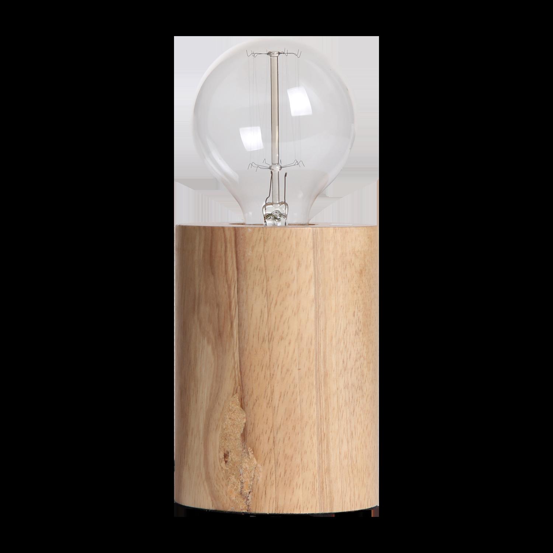 Tafellamp Sweden rond Ø10 cm hout