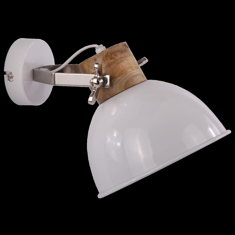 Wandlamp Fabriano groot glans wit
