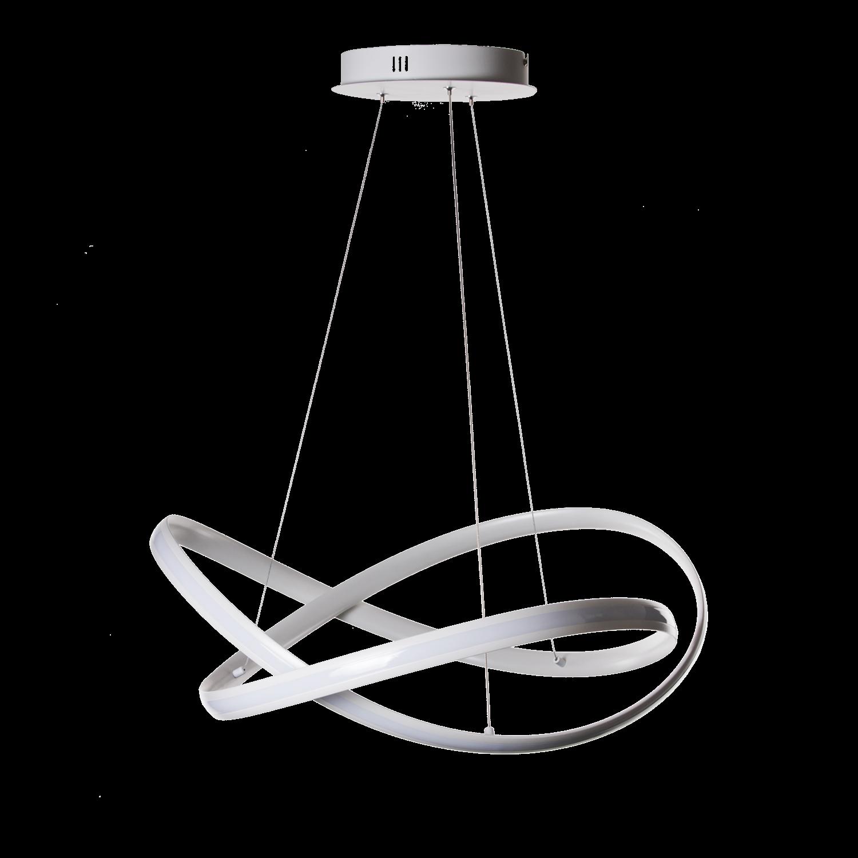 Hanglamp Eleganza LED groot wit