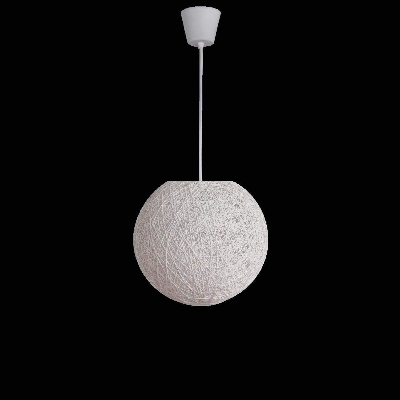 Hanglamp Beau Ø30 cm wit