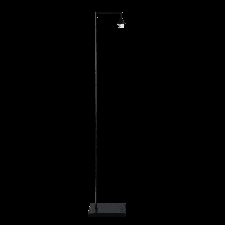 Vloerlamp Vilmar mat zwart