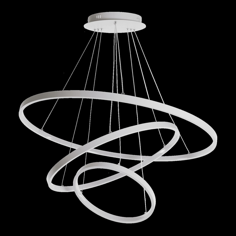 Hanglamp Eleganza 100 cm wit