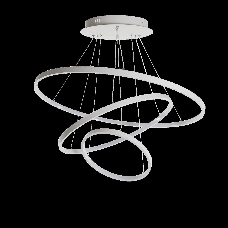 Hanglamp Eleganza 70 cm wit