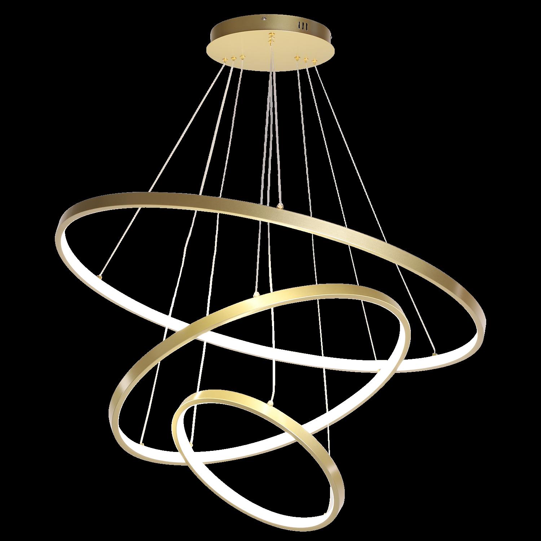 Hanglamp Eleganza 100 cm goud