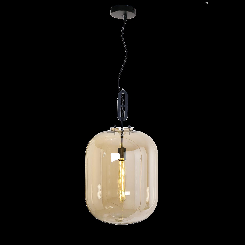 Hanglamp Larino middel Amber