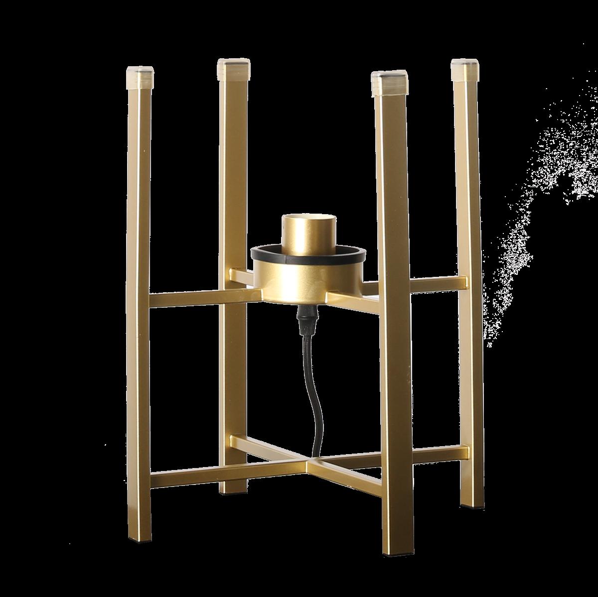 Tafellamp Larino base goud