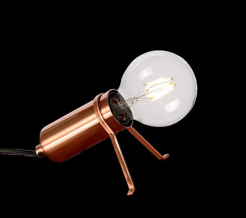 Tafellamp Ardenno koper