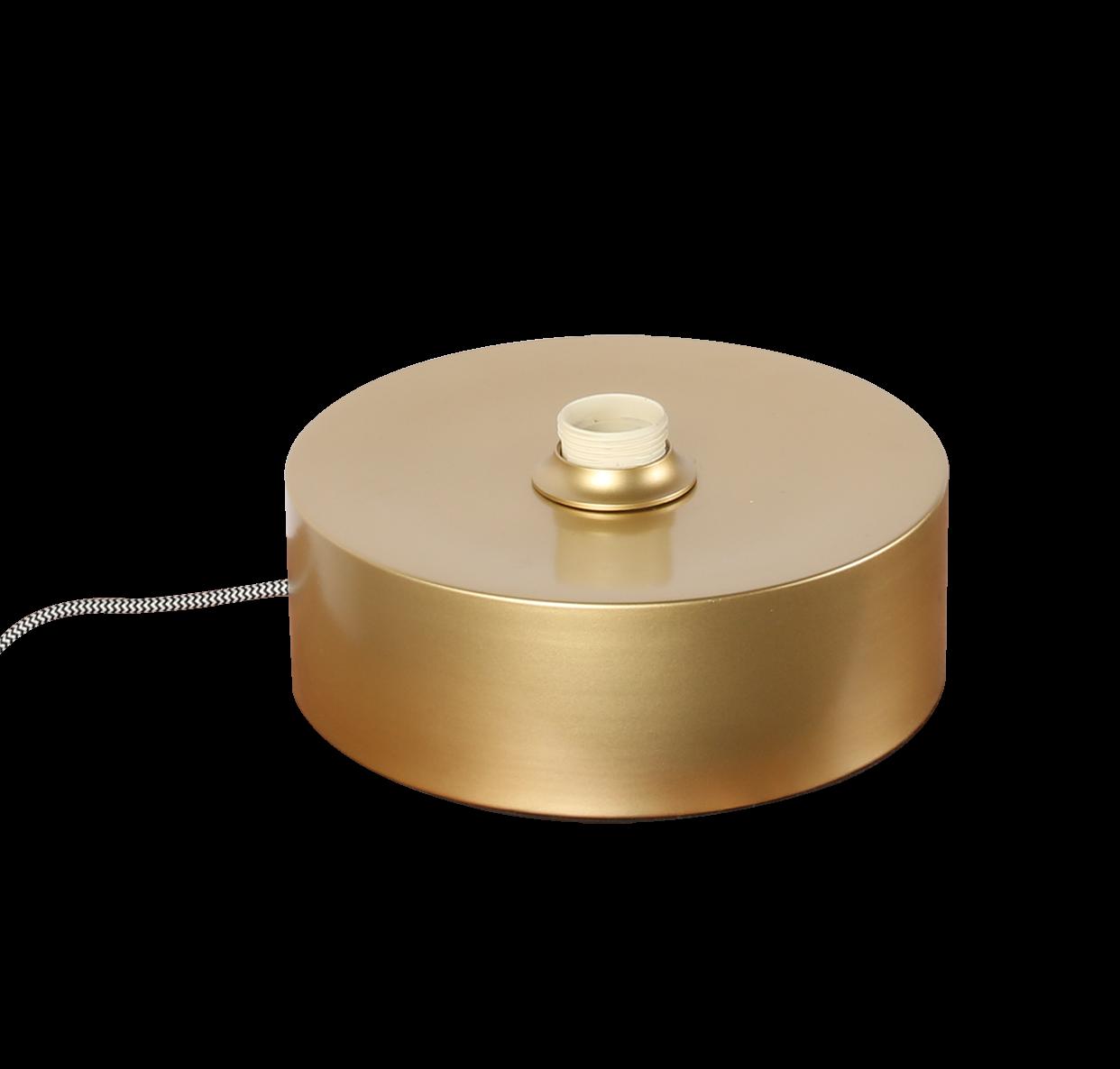 Tafellamp veneto base goud